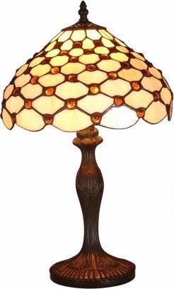 Lampa stołowa 50cm TIFFANY 1X40W E27 53 PREZENT