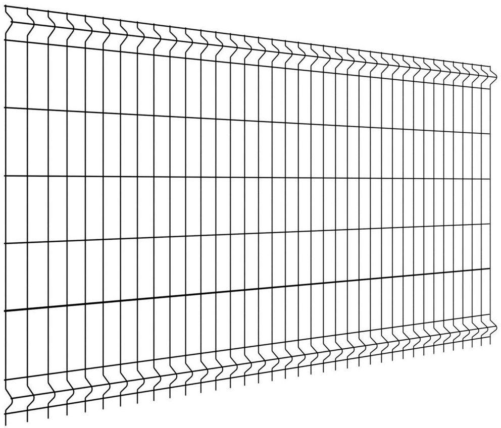 Panel ogrodzeniowy VERA 123 x 250 cm czarny WIŚNIOWSKI