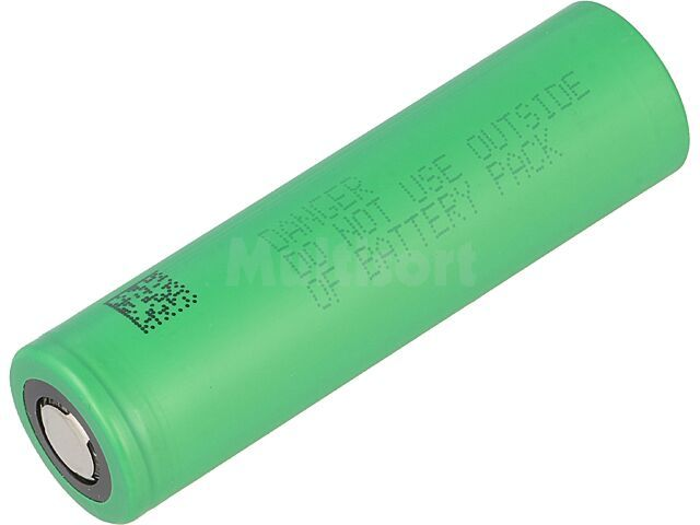 Akumulator Li-Ion MR18650 3,7V 2100mAh fi18,1x64,8mm 10A