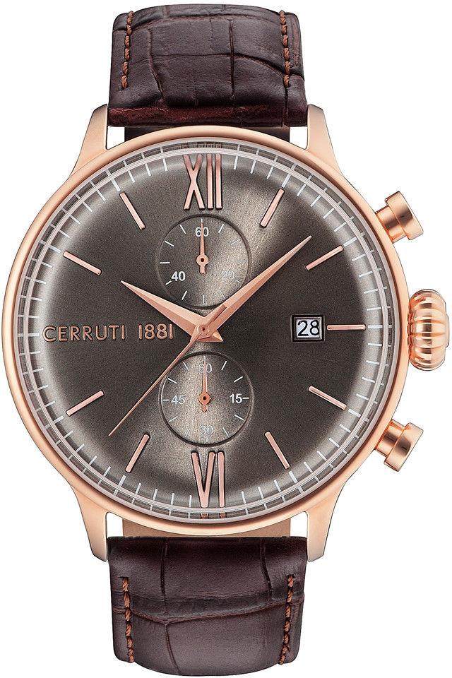 Zegarek Cerruti 1881 CRA178SR13BR DERVIO - CENA DO NEGOCJACJI - DOSTAWA DHL GRATIS, KUPUJ BEZ RYZYKA - 100 dni na zwrot, możliwość wygrawerowania dowolnego tekstu.
