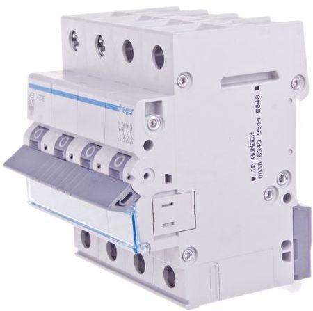 Wyłącznik nadprądowy 4P B 20A 6kA AC MBN420E
