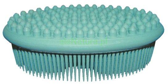 ACT NATURAL zielona szczotka (gąbka) do kąpieli i masażu