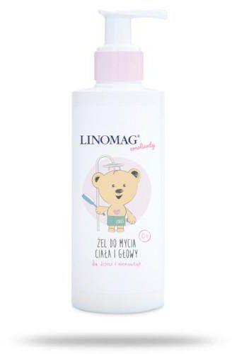 Linomag żel do mycia ciała i głowy dla dzieci i niemowląt 400 ml
