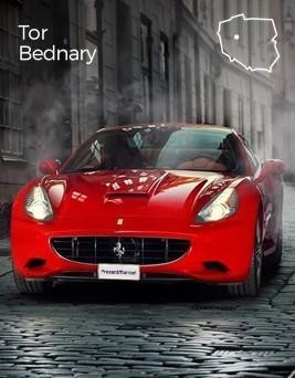 Jazda za kierownicą Ferrari California  Tor Bednary