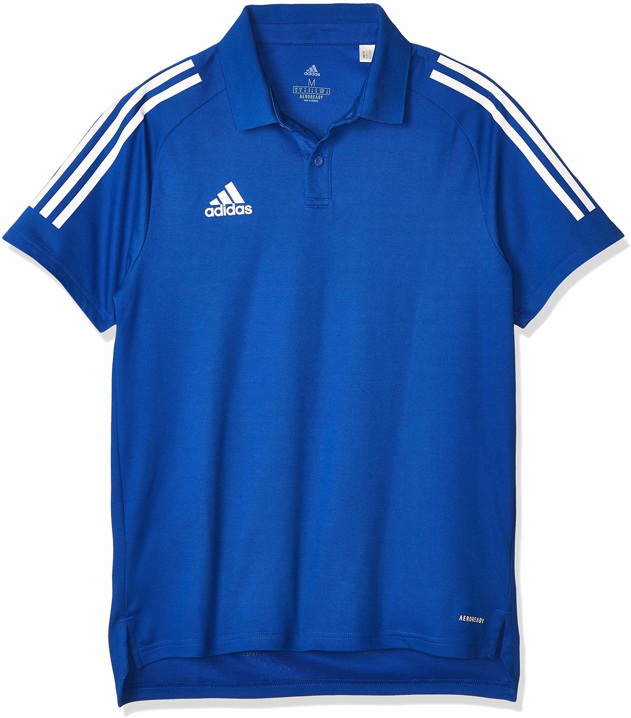 Adidas męska koszulka polo CON20 POLO, team royal blue/white, L, ED9237