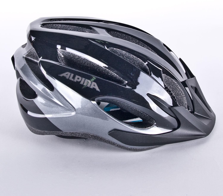 ALPINA MTB17 kask rowerowy czarno-szary Rozmiar: 54-58,alpina-mtb17-black-grey
