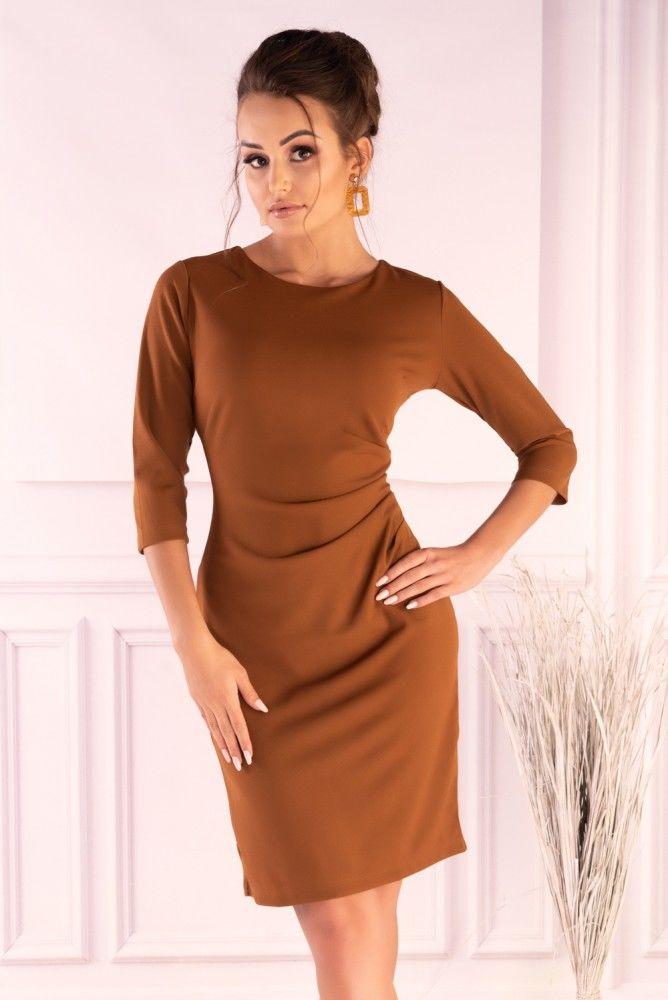 Shanyan Camel sukienka