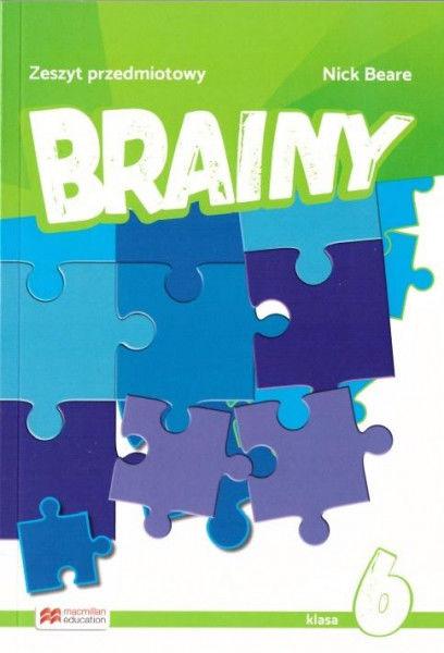 Brainy 6 Zeszyt do j. ang. MACMILLAN ZAKŁADKA DO KSIĄŻEK GRATIS DO KAŻDEGO ZAMÓWIENIA