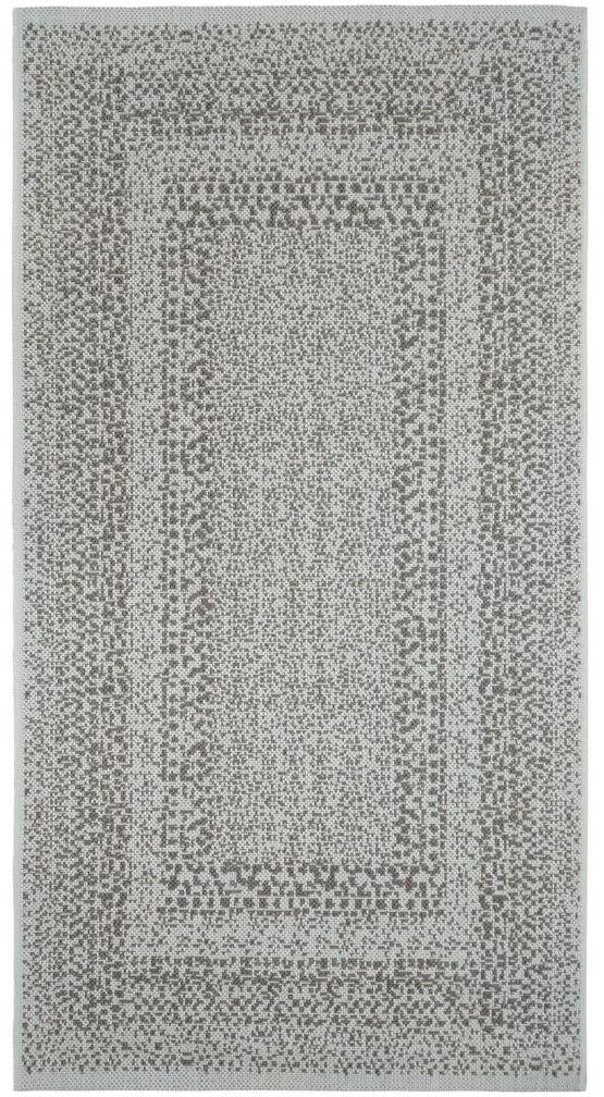 Dywan zewnętrzny Ethnic szary 160 x 230 cm