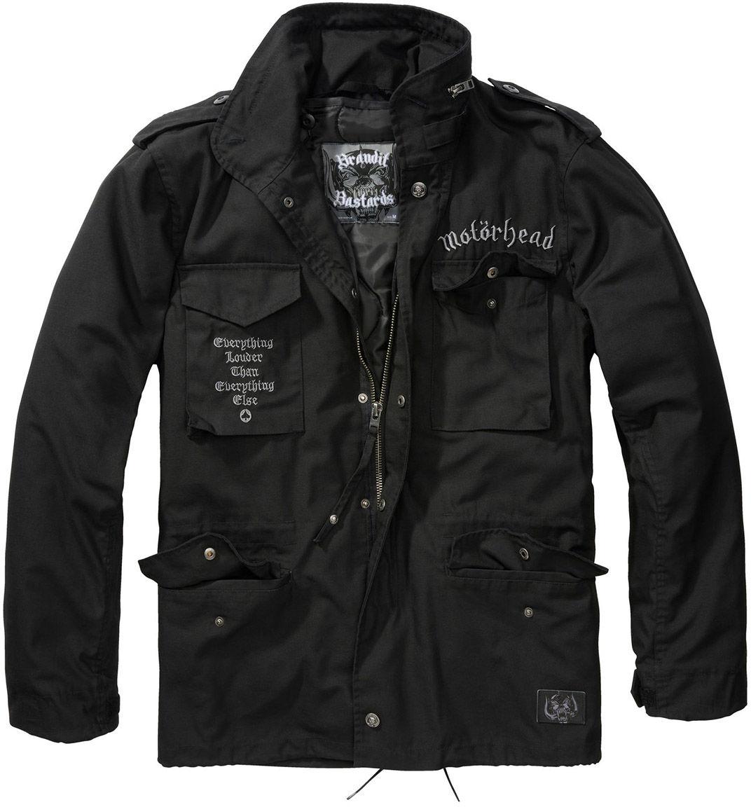 Kurtka Brandit M65 Classic Motorhead Black (61003-2)