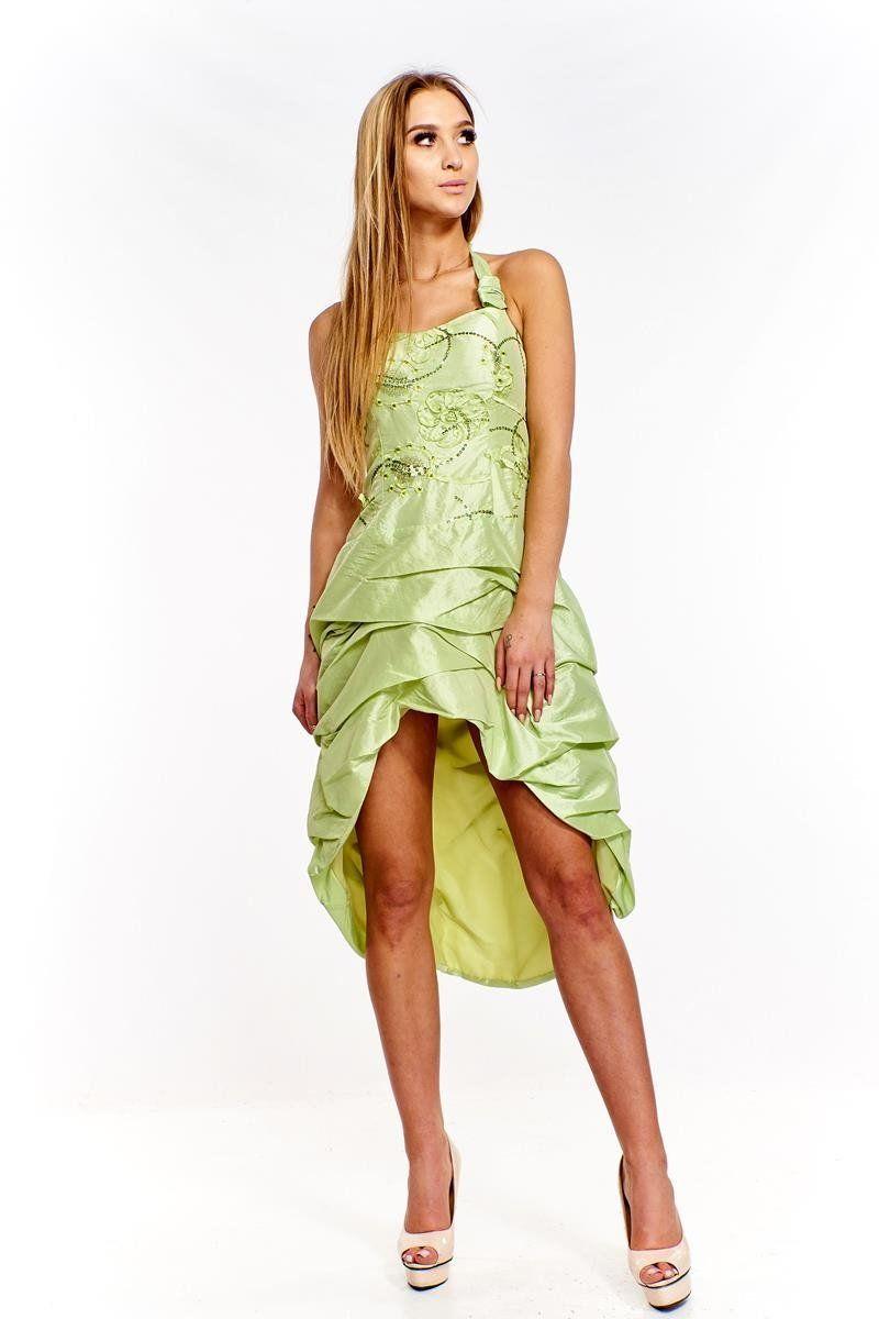 Sukienka FSU115 ZIELONY