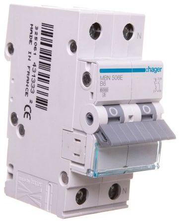 Wyłącznik nadprądowy 1+N B 6A 6kA AC MBN506E