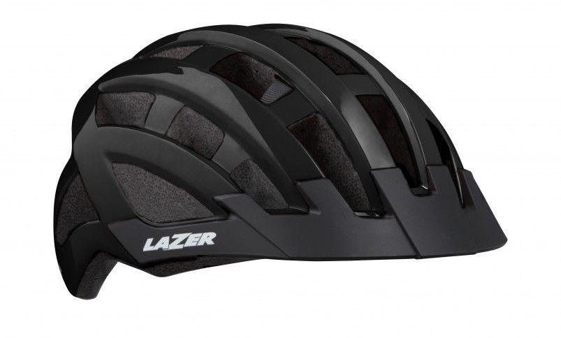 LAZER Compact kask rowerowy czarny połysk Rozmiar: 54-61,5420078850010