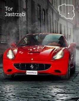 Jazda za kierownicą Ferrari California  Tor Jastrząb