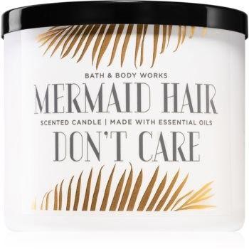 Bath & Body Works Mermaid Hair Don''t Care świeczka zapachowa z olejkami eterycznymi I. 411 g