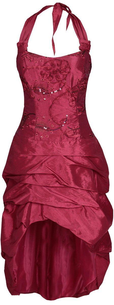 Sukienka FSU115 RUBINOWY