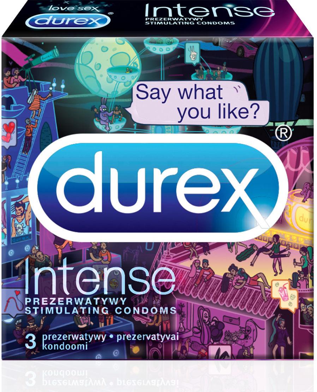 Durex Intense Emoji 3 pack