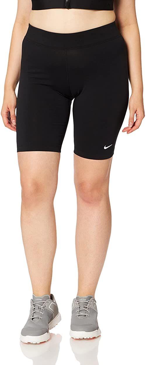 Nike Damskie spodnie rowerowe Essential Mr Biker Black/White, L