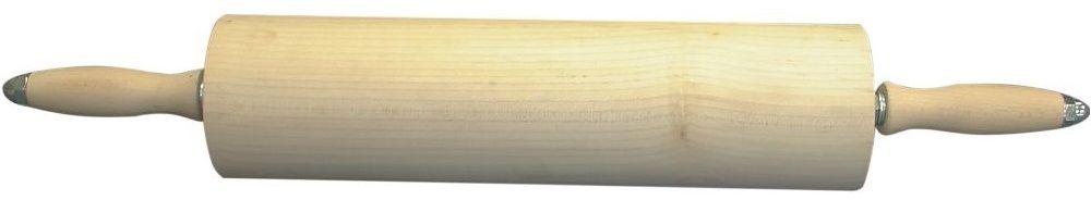 Wałek drewniany na łożyskach kulkowych