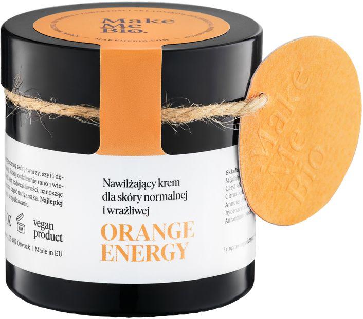 Make Me Bio Orange Energy Nawilżający Krem dla Skóry Normalnej i Wrażliwej 60 ml