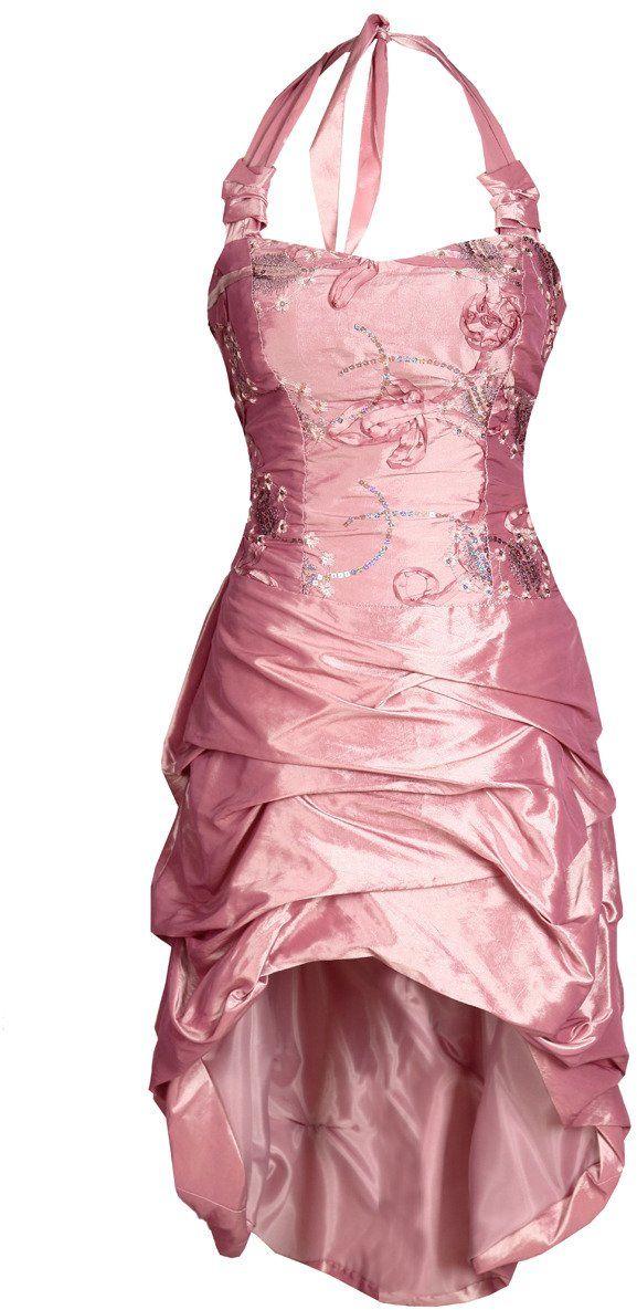 Sukienka FSU115 RÓŻOWY ŚREDNI