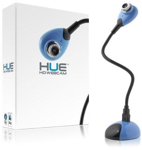 HUE HD Camera kamera dokumentów, internetowa USB z mikrofonem - niebieska