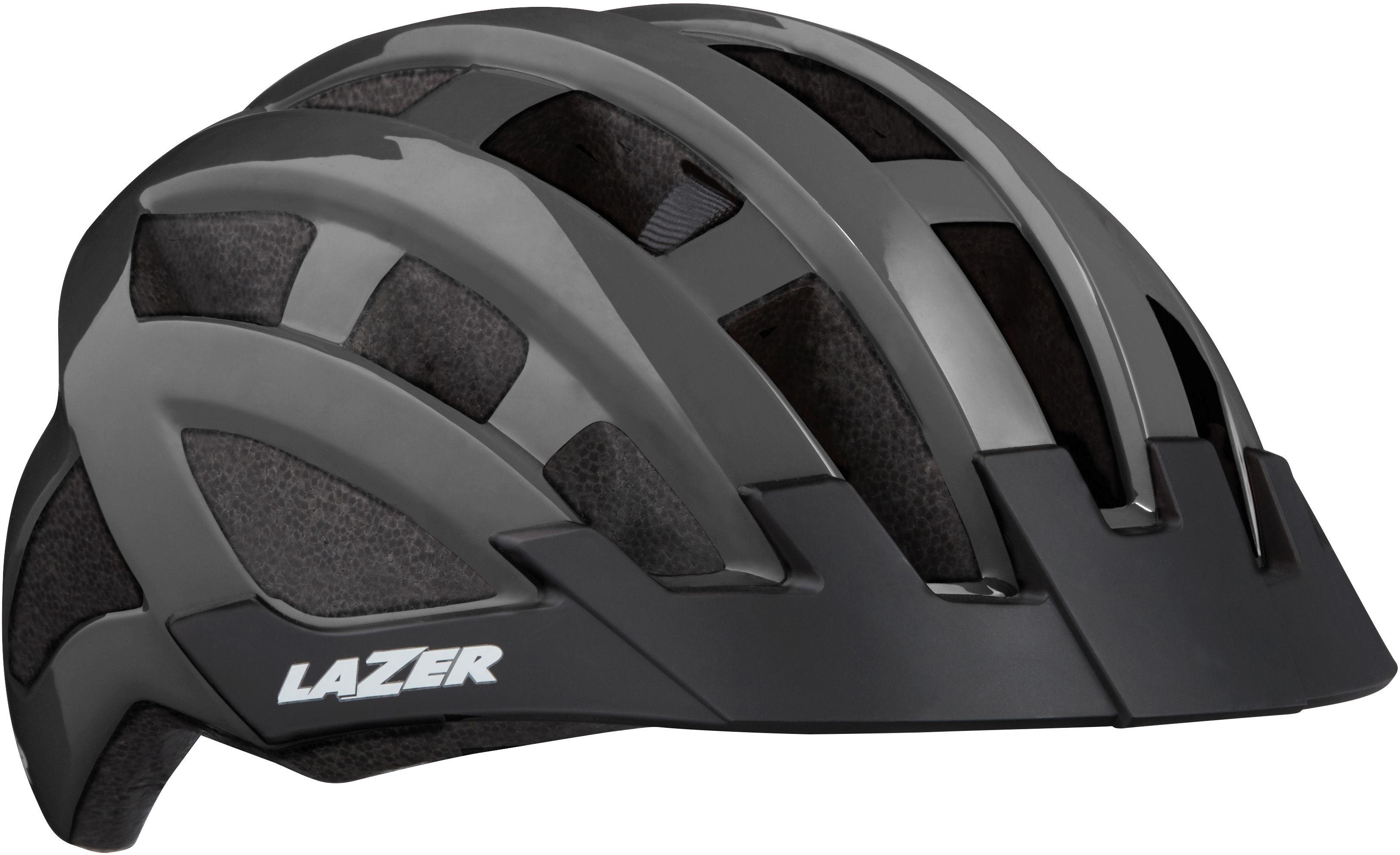 LAZER Compact kask rowerowy tytan połysk Rozmiar: 54-61,5420078850034