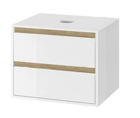 Excellent Tuto szafka podumywalkowa wisząca 60x50x45 biały dąb MLEX.0104.600.WHBL