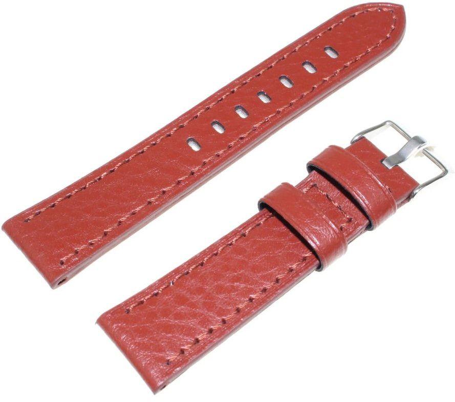 Skórzany pasek do zegarka 20 mm JVD R23703-20