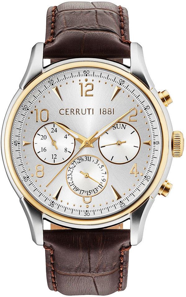 Zegarek Cerruti 1881 CRA107STG04BR BELLAGIO - CENA DO NEGOCJACJI - DOSTAWA DHL GRATIS, KUPUJ BEZ RYZYKA - 100 dni na zwrot, możliwość wygrawerowania dowolnego tekstu.