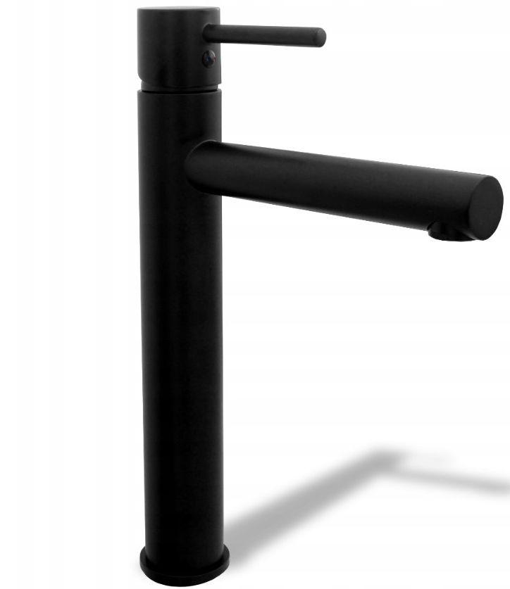 Rea Wysoka bateria umywalkowa Rea Tess czarna