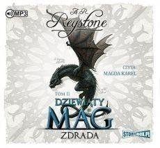 Dziewiąty Mag T.2 Zdrada audiobook - A.R. Reystone