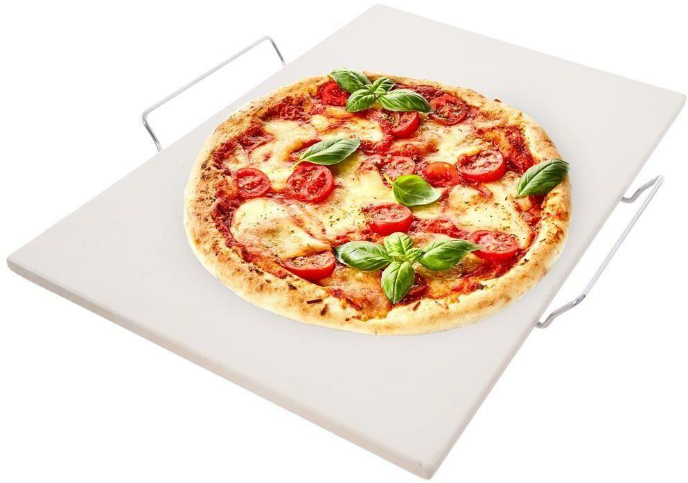 Kamień do pieczenia pizzy 44x30 forma stojak ORION