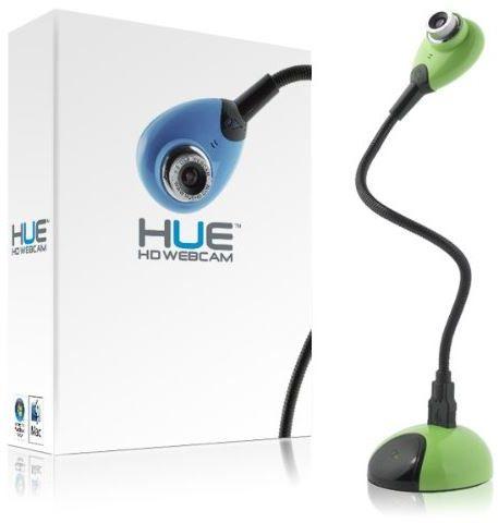 HUE HD Camera kamera dokumentów, internetowa USB z mikrofonem - zielona