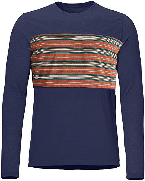 Marmot Męska koszulka z długim rękawem Echo View męska koszulka z długim rękawem niebieski granatowy (Arctic Navy) XL