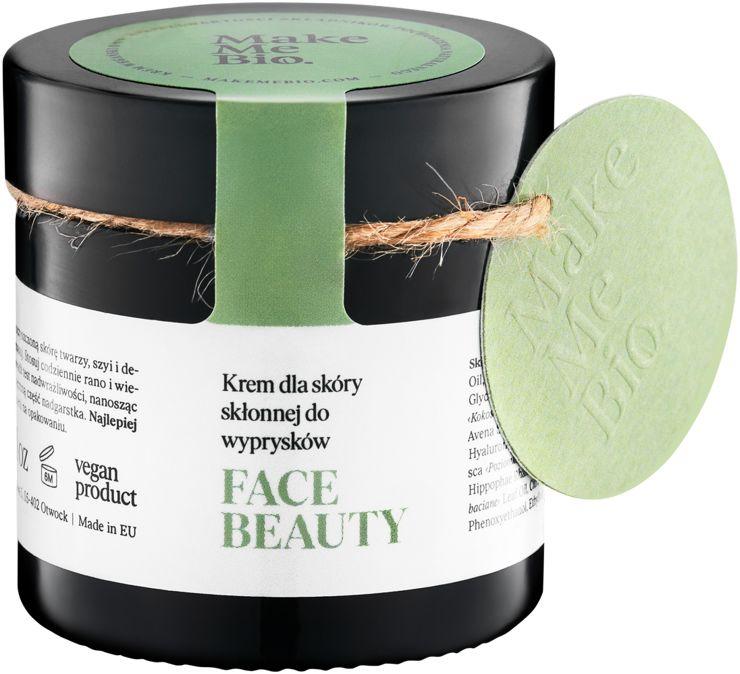 Make Me Bio Face Beauty Krem dla Skóry Skłonnej do Wyprysków 60 ml