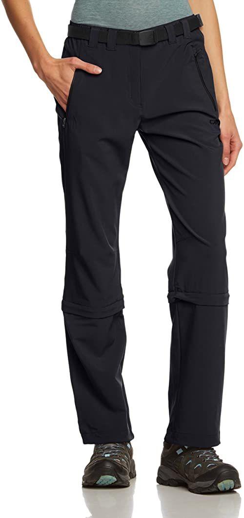 CMP damskie spodnie z odpinanymi nogawkami szary antracytowy 19
