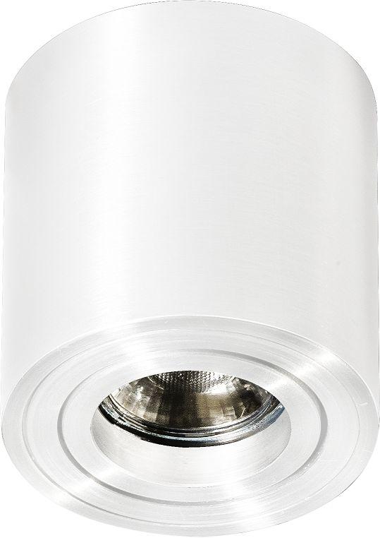 Plafon Mini Bross AZ1711 AZzardo minimalistyczna oprawa w kolorze białym