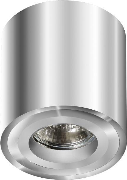 Plafon Mini Bross AZ1757 AZzardo minimalistyczna oprawa w kolorze chromu