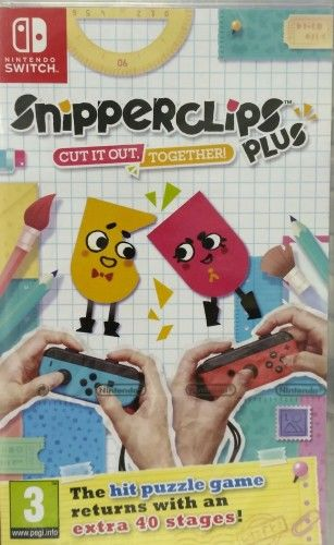 Snipperclips Plus: Cut it out, together ENG NS