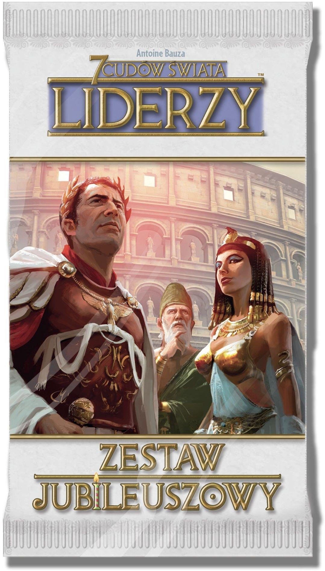 Rebel Gra 7 Cudów Świata: Zestaw jubileuszowy - Liderzy 5_672154