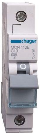 Wyłącznik nadprądowy 1P C 10A 6kA AC MCN110E
