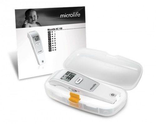 Termometr bezdotykowy microlife NC 150 + plastikowe Etui - 5lat gwarancji