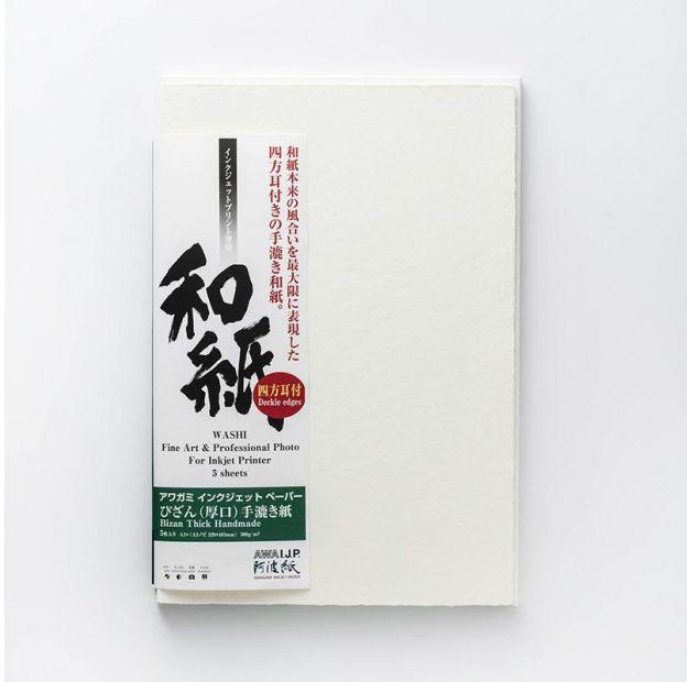 Papier AWAGAMI Bizan Thick 300 - A2, 5 arkuszy (IJ-3232)
