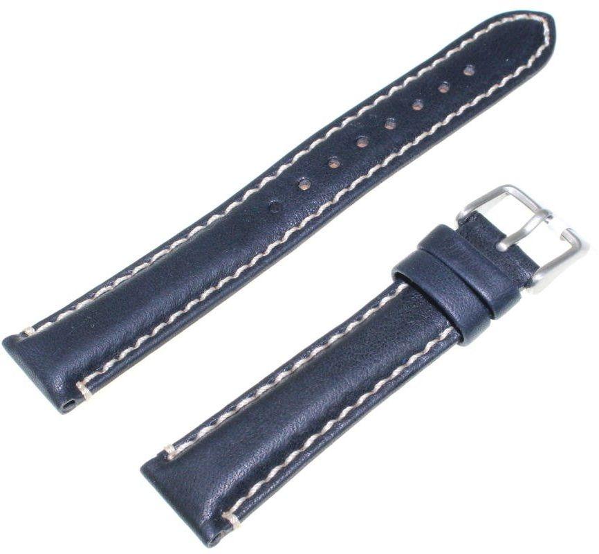 Skórzany pasek do zegarka 18 mm JVD R22409-18