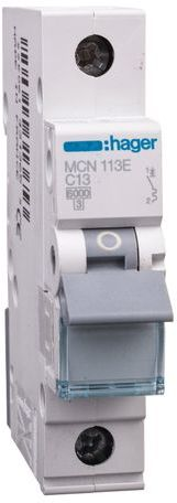 Wyłącznik nadprądowy 1P C 13A 6kA AC MCN113E
