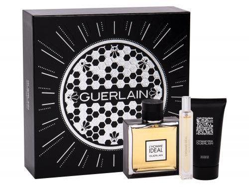 Guerlain L''Homme Ideal żel pod prysznic 75ml + miniaturka 10ml + woda toaletowa - 100ml - Darmowa Wysyłka od 149 zł