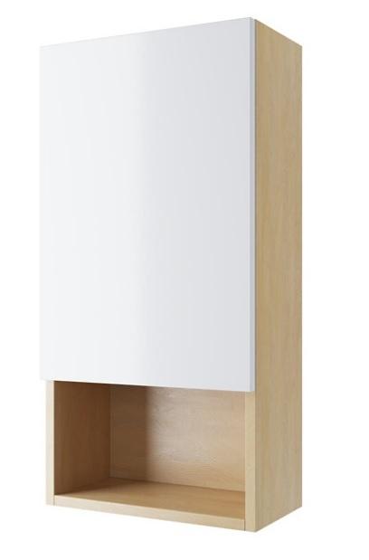 Excellent Tuto szafka boczna 40x80x40cm dąb biały MLEX.0105.400.BLWH