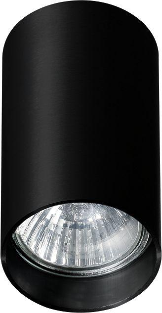 Plafon Mini Round AZ1781 AZzardo nowoczesna oprawa w kolorze czarnym