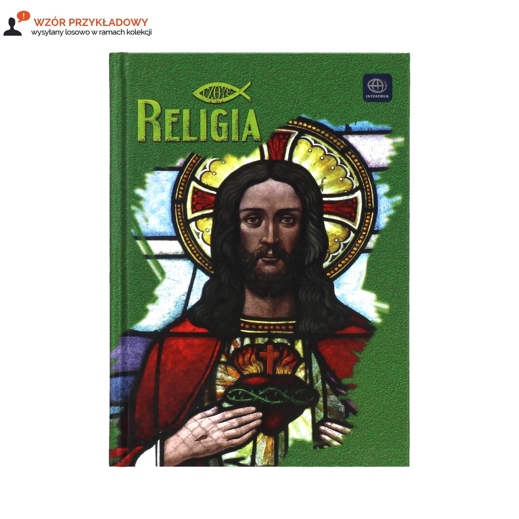 Brulion A5/64 kratka religia Interdruk